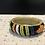 Thumbnail: Medium Beaded Bracelet on Leather