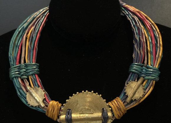 Multi-Leather Necklace