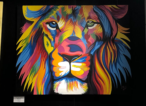 Color Me Lion #4 - Chea
