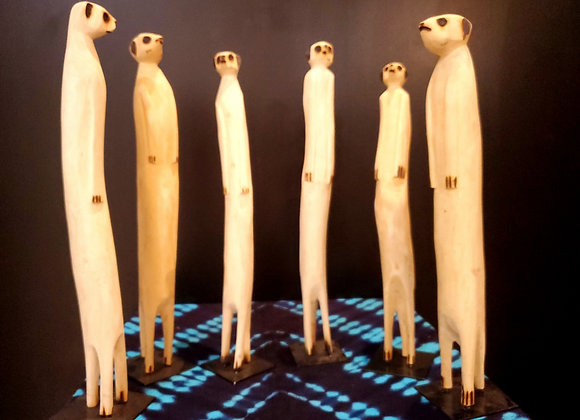 Wooden Meerkat