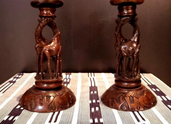 Giraffe Candle Set