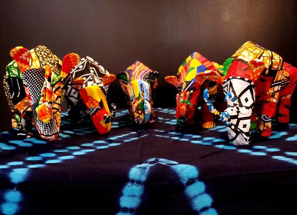 Fabric Mache Rhino