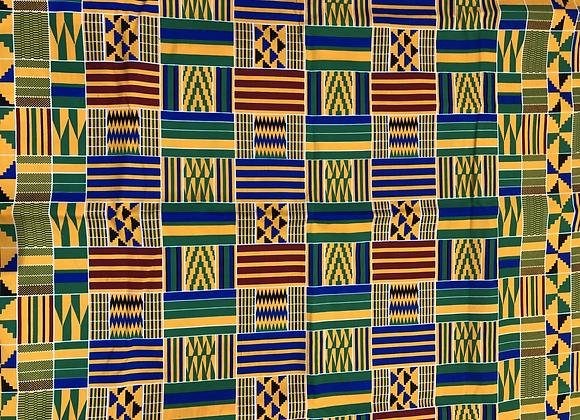 Kente Print Fabric-1