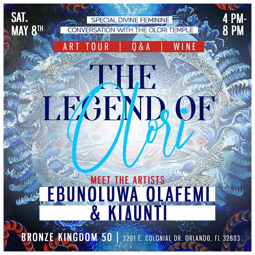 The Legend of Olori Art Show