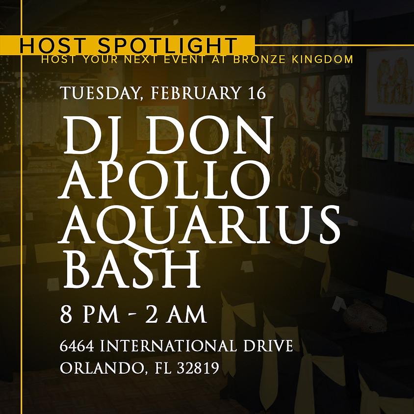 Host Spotlight: Dj Don Apollo's Aquarius Bash