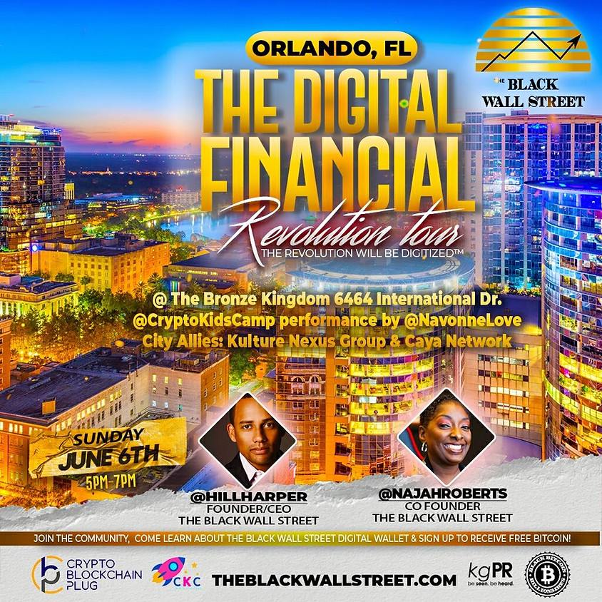 Black Wall Street's Digital Financial Revolutionary Tour