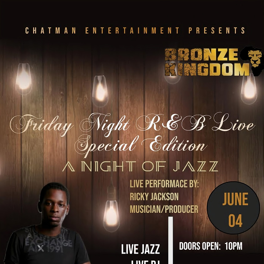 Friday Night R & B Live Juneteenth Edition