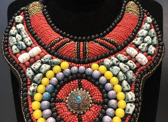 SA Deluxe Premium Beaded Necklace