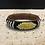 Thumbnail: Thin Beaded Bracelet on Leather