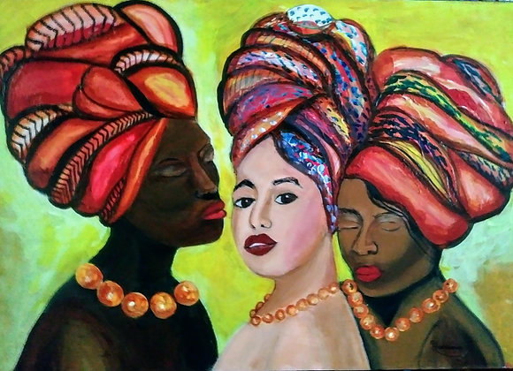 Headwraps and Jewelry l