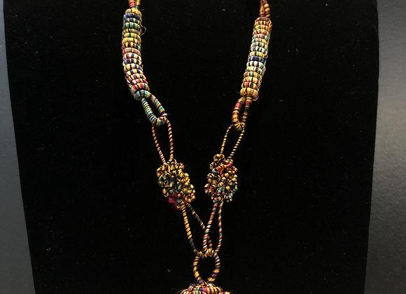 Thread Wound Necklace