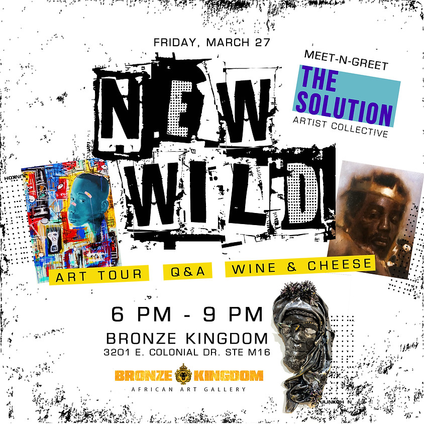 MEET THE ARTISTS: New Wild featuring The Solution