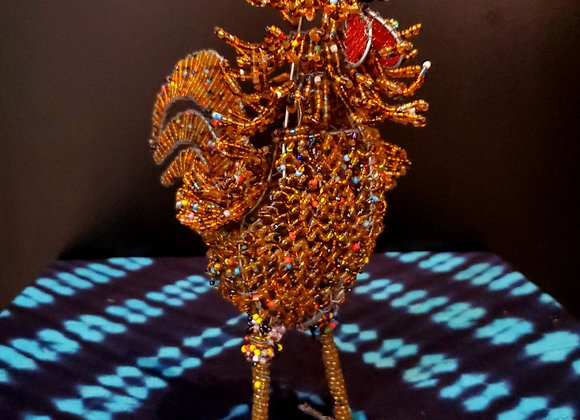 Wire Beaded Chicken