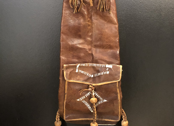 Liberian Leather Backpack