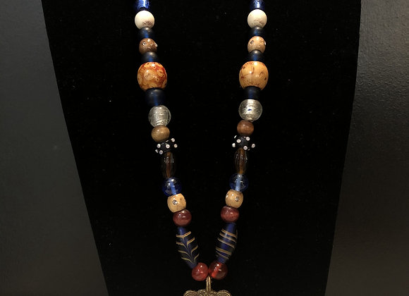 Dogon Tribe Beaded Necklace