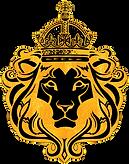 BK Lion Head_goldleaf and black_transpar