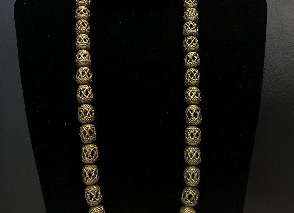Bronze Lantern Necklace