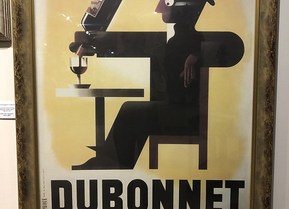 Dubonnet French Poster - Lithograph Limited Edition