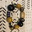 Thumbnail: Amber and Trade Beads Tribal Bracelet