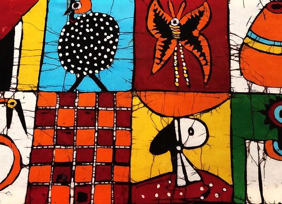 8 Squares Batik