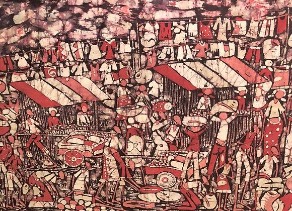 Red Market Batik