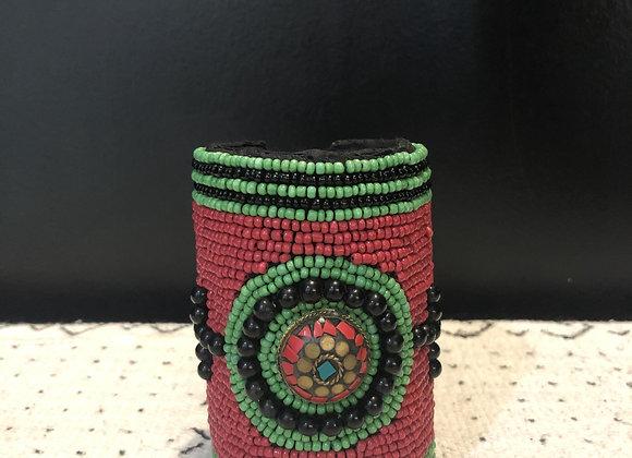 SA Premium Red Beaded Bracelet