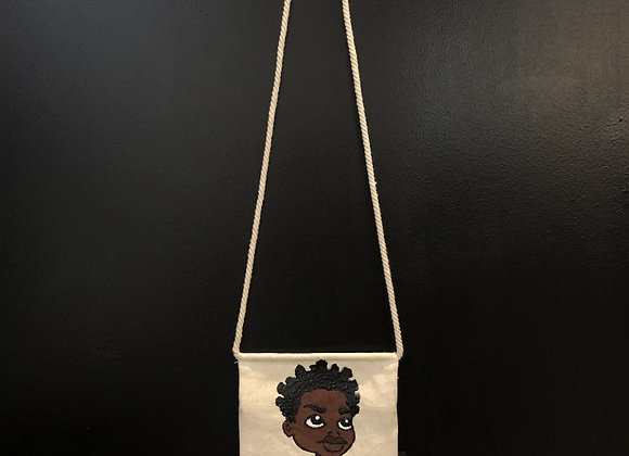 Painted Cross Bag
