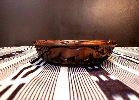 Big 5 Carved Bowl