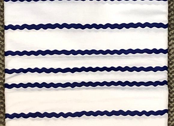 Striped Blue Fabric