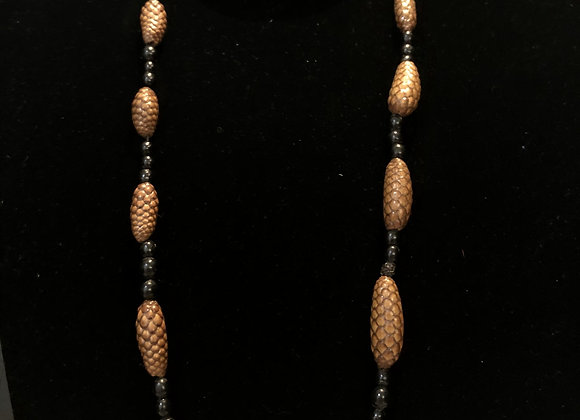Malawi Brown Beaded Necklace