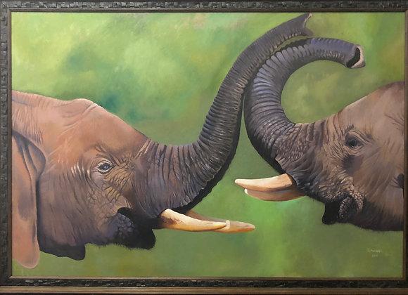 Elephant Love - Mphahlele