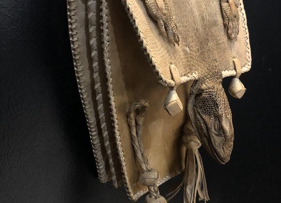 Men's Lizard Head Bag