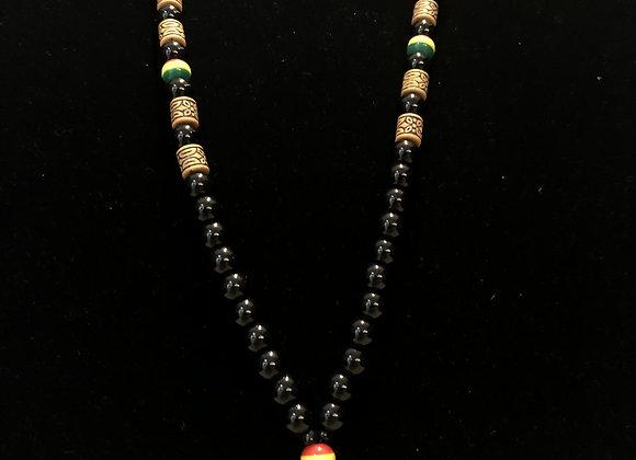 Single Black Necklace