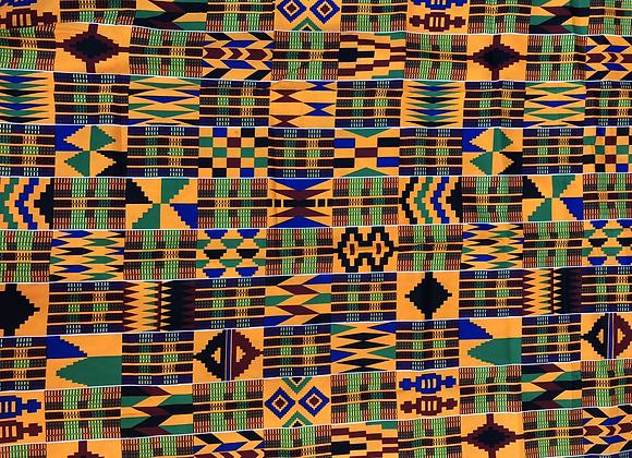 Kente Print 2 Fabric