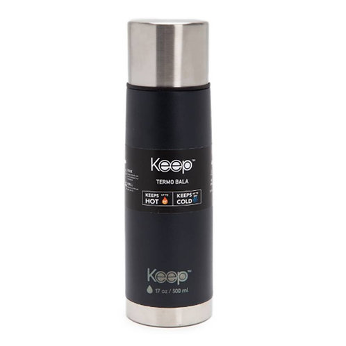 Termo Rubber Keep 500ml Acero Inoxidable