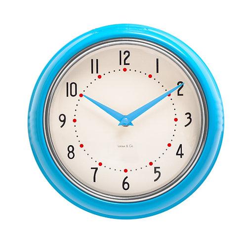 Reloj de pared metalico vintage