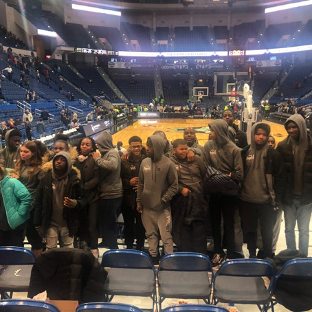 New Heights Middle School Takes A Trip To UCONN