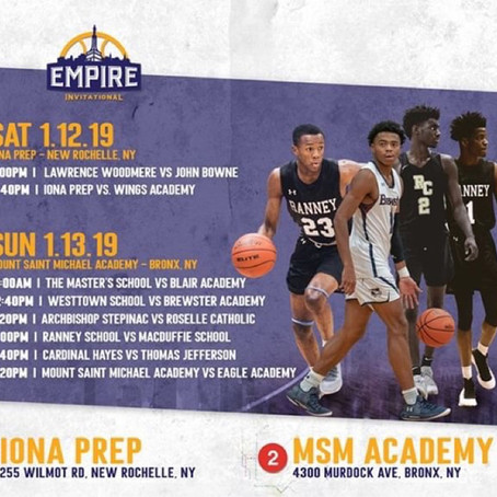 Empire Classic at Iona Prep & MSM Academy