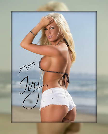 """Black's Beach"" Signed 8x10 Poster"