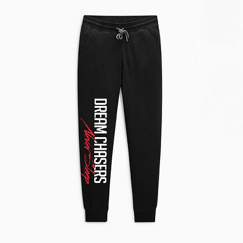 Black Joggers White w/Color NS