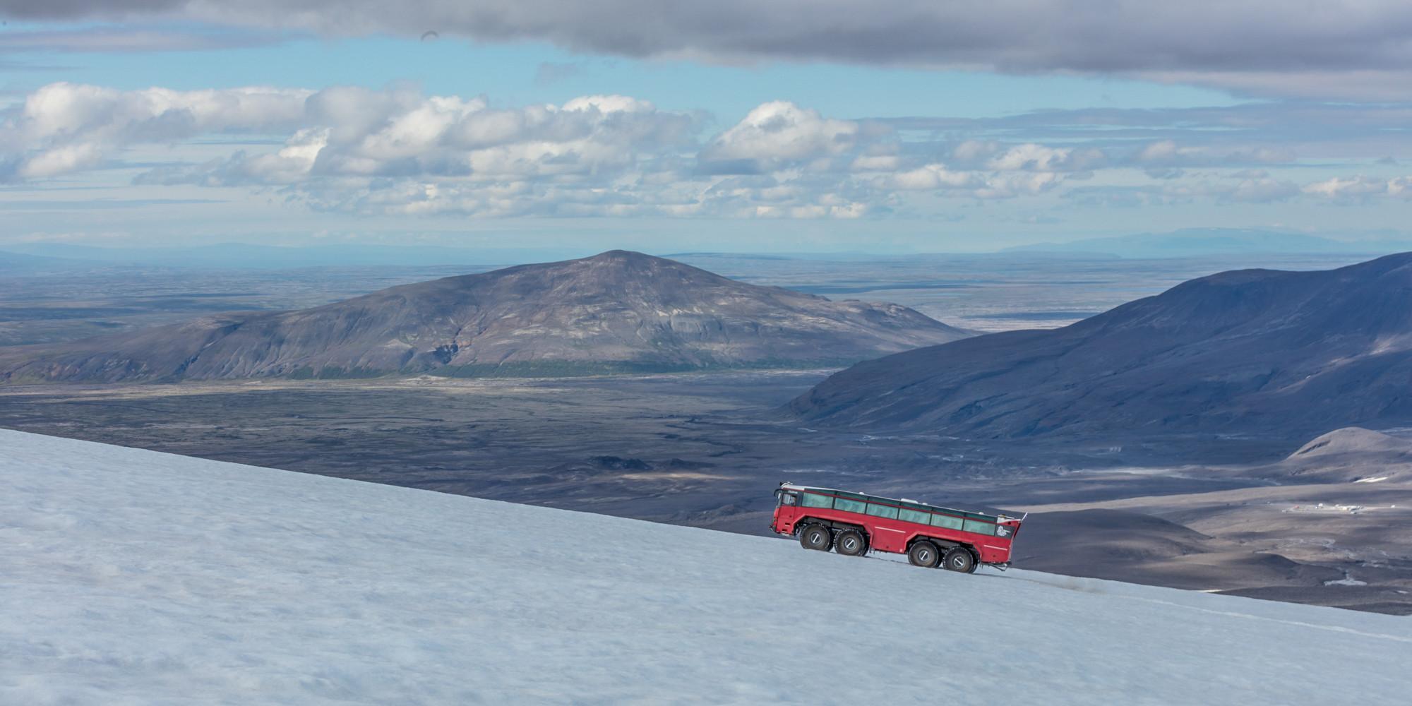 Glacier tour on Eyjafjallajökull