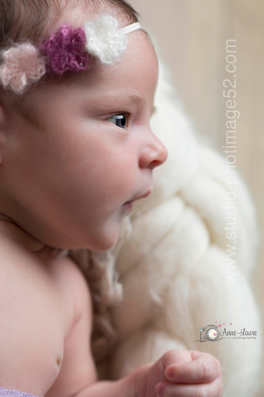 Portrait nouveau-né Louise 19 jours