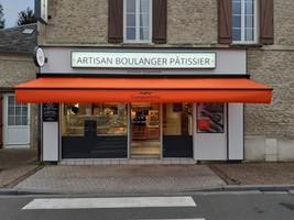 Store lambrequin boulangerie