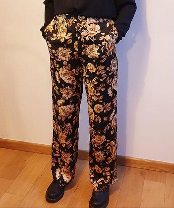 Pantalon fleuri Vila