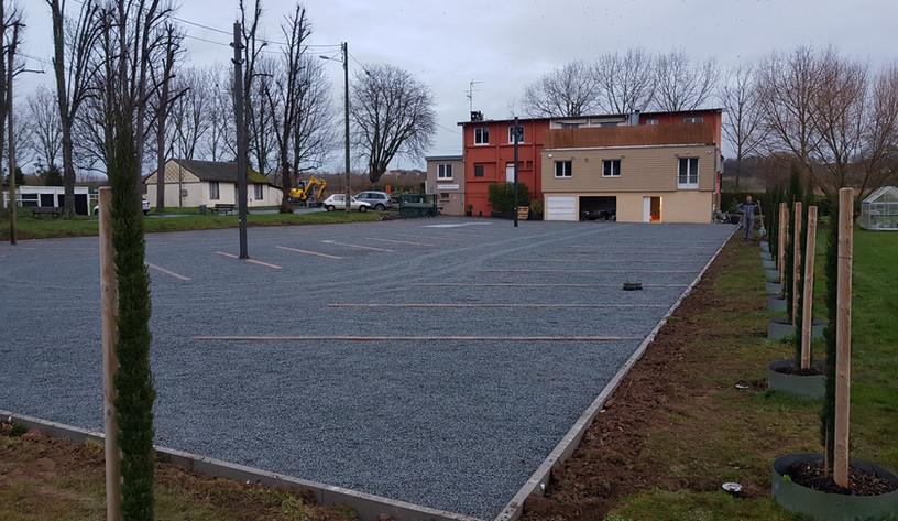 Projet de terrassement