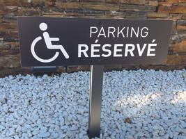 Signalétique parking