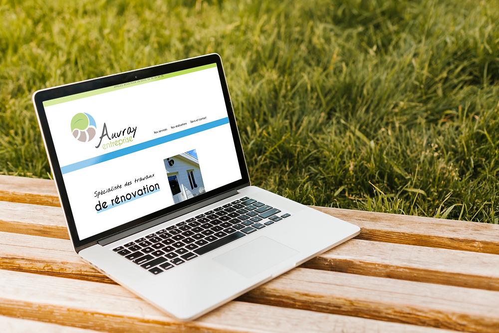 Création de site internet Auvray Entreprise