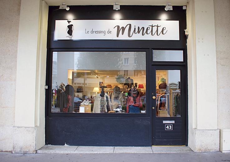 Le Dressing de Minette - Boutique prêt-à-porter femme Caen