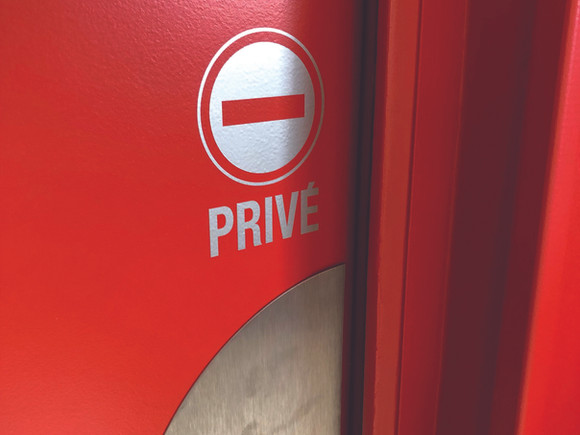 Signalétique privé