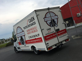 Covering camion